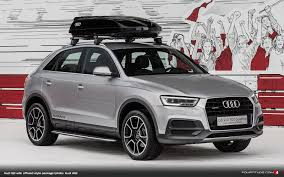 Audi offroad style package and More Introduced for Q3 at ...