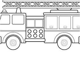 Printable Colouring Pages Of Trucks Fire Trucks Coloring Pages