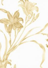 Gold Flower Wallpaper on WallpaperSafari