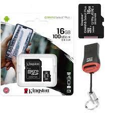Memory Card Kingston for Huawei P Smart 2020 Micro SD Sdxs Canvas 16 - 512  GB
