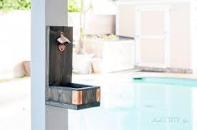 diy wall mounted bottle opener