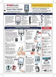 Blood Glucose Meter Compatibility With Lancets And Test Strips Chart Cvs Health Advanced Blood Glucose Meter