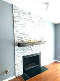 fireplace tile ideas craftsman around surround best stone til