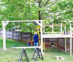 diy swing set kits wooden swing plans wooden swing set blueprints free porch swing plans pdf