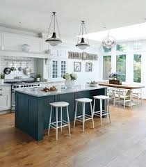 image cool kitchen. Exellent Image A Chic Emerald Kitchen Island With Marble Countertop And Breakfast Zone  On One Side In Image Cool Kitchen T