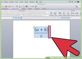 4 ways to insert equations in microsoft word wikihow