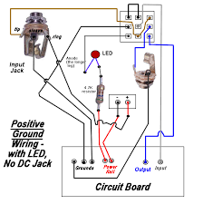 rothstein guitars \u2022 serious tone for the serious player pedal wiring diagram true bypass switching positive ground with led, but no dc jack