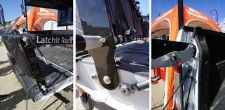Latchit Rack extends your pickup truck's bed w/ tailgate extending ...