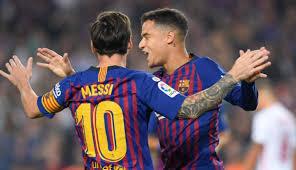 Resultado de imagen para Barcelona  4-2  Sevilla