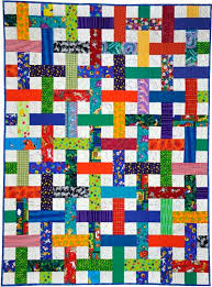 65 best BASKET WEAVE QUILTING images on Pinterest | Quilt patterns ... & Lattice Quilt by Beth Donaldson: Quiltmaker: Free Quilt Patterns Adamdwight.com