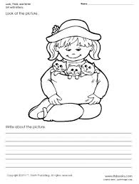 lookthinkandwrite1large look, think, and write worksheet set 1 on grade 1 science worksheets