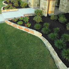rubber mulch review. Simple Mulch Residential Landscape  GroundSmart Black Rubber Mulch For Review S
