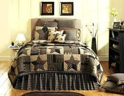 primitive bed quilt bedding sets star primitive queen king cal king quilt bed set by brands primitive bed