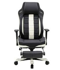 chair with lumbar support. DXRacer CE120 Classic Series Gaming Chair Lumbar Support With Leg Rest - Black \u0026 White T