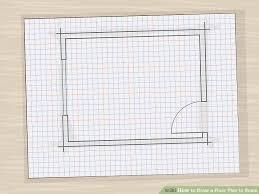 open door drawing perspective. Image Titled Draw A Floor Plan To Scale Step 9 Open Door Drawing Perspective