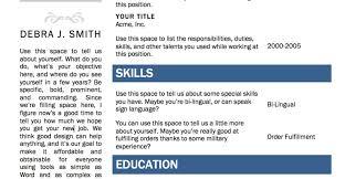 Resume Amazing Simple Resume Template Sample Resume Template