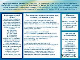Презентация на тему Дипломная работа Пересыпкиной Людмилы  2 Цель дипломной работы Цель дипломной