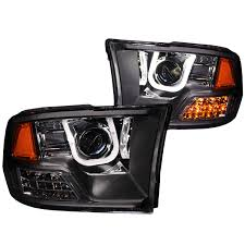2016 Ram 3500 Fog Light Bulb Anzo 111270 Anzo Usa Dodge Ram 3500 Does Not Fit Models With Stock Projector Headlights Projector Headlights W U Bar Black 2010 2017