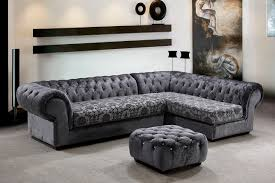 Sofa Design, Sofas Design With Pictures Rectangle L Shaped Grey Coloured  Floral Pattern Soft Comfortable