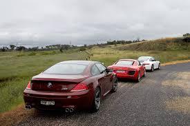 BMW 5 Series bmw m6 vs maserati granturismo : Audi R8 vs Porsche 911 Carrera S vs BMW M6: Classic MOTOR | MOTOR