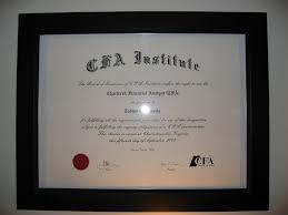 Cfa Designation Description The Graduate Cfa