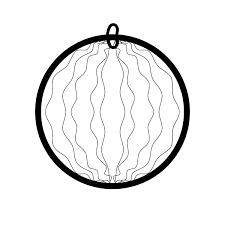 かわいいスイカの無料イラスト商用フリー オイデ43