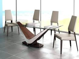 contemporary glass dining table medium size of wood pedestal bases base ideas extendable modern palermo white