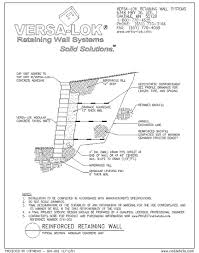 Small Picture Block Retaining Wall Design Manualchannel block retaining walls