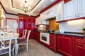 room design luxury kitchen classic kitchen dining room ideas luxury kitchen design in white red colors in
