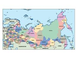 Presentation Mapping Russia Presentation Map Vector World Maps