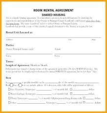 Room Rental Contract Boat Rental Agreement Contract 603 638 Room For Rent