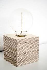 plywood lighting. Cube Desk Lamp \u2013 Plywood Lighting
