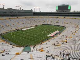 Lambeau Field View From Section 635s Vivid Seats