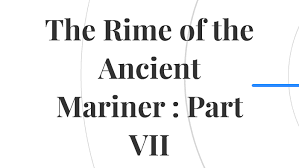 the rime of the ancient mariner part