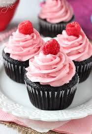 chocolate cupcakes with pink icing recipe. Simple Recipe For Chocolate Cupcakes With Pink Icing Recipe