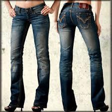 Details About Remetee Avalon Curve Stitch Premium Denim Vintage Aged Womens Bootcut Jeans Blue