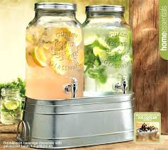 the best of glass beverage dispenser with metal spigot property