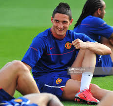 Manchester United's Italian Federico Macheda takes part in a training...  News Photo - Getty Images