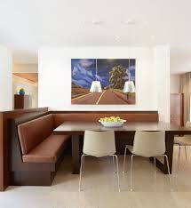 White Breakfast Nook White Modern Corner Breakfast Nook Furniture House Design And