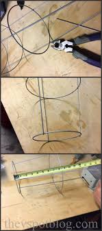 how to make a rustic chandelier from a