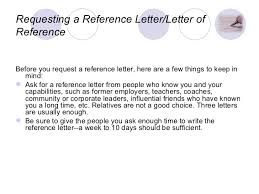 Asking For A Professional Reference Requesting References From Candidate Magdalene Project Org