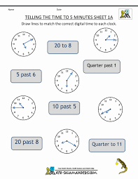 Collection Worksheets On Time Pictures Worksheet For Kids Images ...