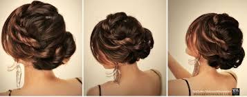 the easy bun hairstyles for long hair