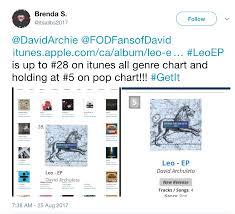 Pop Chart Reviews Leo Making Strides Archuleta Avenue Malaysia