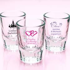 personalized fluted shot glasses exclusive