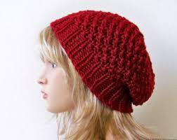 Knit Beanie Pattern Custom Slouchy Hat Knitting Pattern 48 Patterns In 48 Cloche Hat