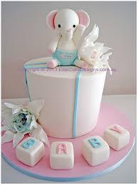 Little Elephant Baby Shower Cake Baby Shower Cake Designs Animal