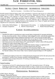 Example Resume 3 - Accomplishments & Special Skills