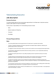 s telemarketer resume telemarketing executive job description telemarketing executive job description