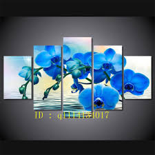 2018 blue orchid bild canvas prints wall art oil painting home decor unframed framed from q1114134017 15 38 dhgate com on blue orchid canvas wall art with 2018 blue orchid bild canvas prints wall art oil painting home decor